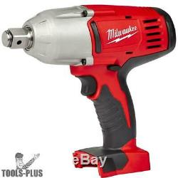Milwaukee 2664-20 M18 3/4 Hi-Torque Impact Wrench withFriction Ring (Tool) New