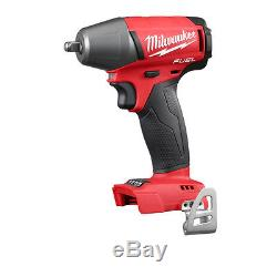 Milwaukee 2754-20 M18 FUEL Cordless 3/8 Impact Wrench withFriction Ring Bare