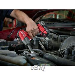 Milwaukee 2754-22CT M18 FUEL Cordless 3/8 Impact Wrench withFriction Ring Kit