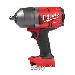 Milwaukee 2766-20 M18 FUEL 1/2 High Torque Impact Wrench withPin Detent