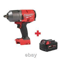 Milwaukee 2767-20, 48-11-1850 M18 18.0 1/2 Cordless Impact Wrench Kit