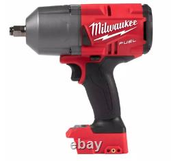 Milwaukee 2767-20 M18 18-Volt Lithium-Ion Brushless Cordless 1/2 in. Impact NEW