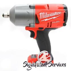 Milwaukee 2767-20 M18 FUEL 1/2 1400 FT/LBS 6.0 Ah High Torque Wrench Impact Kit