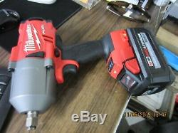 Milwaukee 2767-20 M18 Impact Wrench 1/2 in. Brushless Cordless With 8.0 Battery