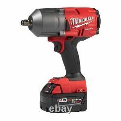Milwaukee 2767-22GG M18 1/2 Impact Wrench withFriction ring & M18 2646-Grease Gun