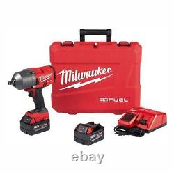 Milwaukee 2767-22 M18 FUEL 18-Volt Brushless Cordless 1/2 in. Impact Wrench