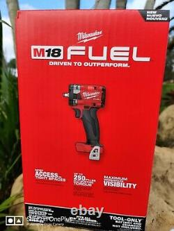 Milwaukee 2854-20 M18 3/8 Drive Stubby Impact Wrench Bare Tool