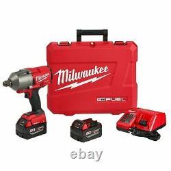 Milwaukee 2864-22 M18 FUEL 18V 3/4 High Torque Impact Wrench Kit