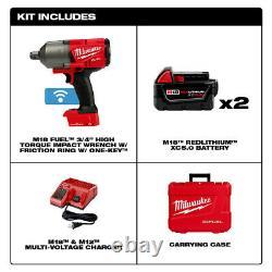 Milwaukee 2864-22 M18 FUEL Impact Wrench Kit New