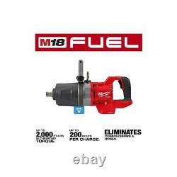 Milwaukee 2868-20 Cordless Impact Wrench, 1 Drive
