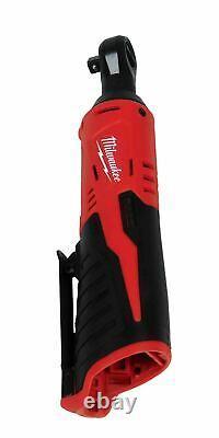 Milwaukee 3/8 Ratchet Kit 2457-21 12V Cordless Includes Battery Charger Kit