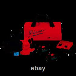 Milwaukee Electric 2868-22HD M18 1 Drive D Handle Cordless Impact Wrench Kit