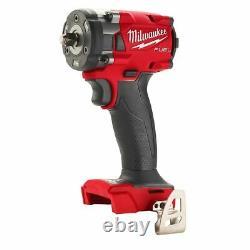 Milwaukee FUEL 2854-20 3/8 M18 Brushless Cordless Impact Wrench 18 Volt 18v