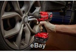 Milwaukee Impact Wrench 1/2 in Brushless Cordless M18 FUEL 18 Volt Lithium Ion