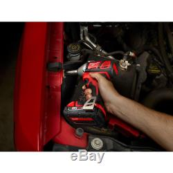 Milwaukee Impact Wrench Kit M18 Cordless 18 Volt Lithium Ion 3/8 Drive 167 FtLb
