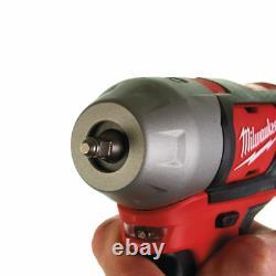 Milwaukee M12BIW14 12V Sub Compact Cordless Impact Wrench Gun Bare Unit 1/4 NEW
