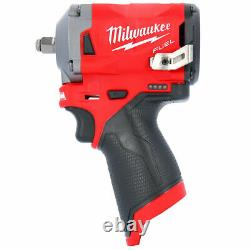 Milwaukee M12FIW38-0 12V Li-ion FUEL 3/8 Stubby Impact Wrench Body Only