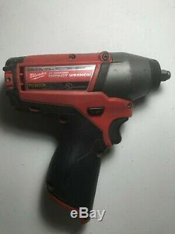 Milwaukee M12 FUEL 2454-20 3/8-Inch Electrical Cordless Impact Wrench 12V