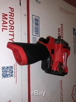 Milwaukee M12 FUEL Li-Ion 3/8 in. Stubby Impact Wrench 2554-20 New (Tool Only)