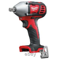 Milwaukee M18BIW12-0 18V Compact 1/2 Impact Wrench Body Only 4933443590