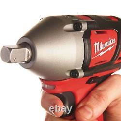 Milwaukee M18BIW12-0 18v 1/2 Impact Wrench Cordless Body Only