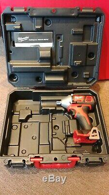 Milwaukee M18BIW12 18v 1/2 Impact Wrench Cordless Body Only with case