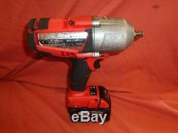 Milwaukee M18CHIWF12 18v Cordless 1/2 High Torque Impact Wrench 3.0 AH Battery