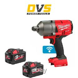 Milwaukee M18ONEFHIWF34-0 18v 3/4in One-Key Fuel High Torque Impact Wrench 2x9Ah