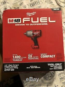 Milwaukee M18 18 Volt Brushless Cordless 1/2 Impact Wrench 2767-20 (Tool Only)