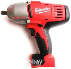 Milwaukee M18 2663-20 1/2 Impact Wrench, (2) 48-11-1850 5.0 Batteries, Charger