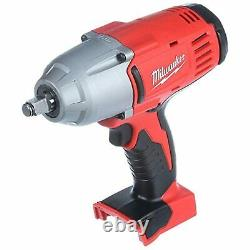 Milwaukee M18 2663-20 Cordless 1/2 High Torque Impact Wrench 18 Volt