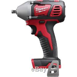 Milwaukee M18 Cordless Compact Impact Wrench-Tool Only 3/8in Friction Ring 18V