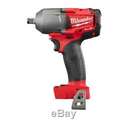 Milwaukee M18 FUEL 1/2 in. Impact Wrench with Friction Ring (BT) 2861-20 New