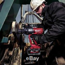 Milwaukee M18 FUEL BRUSHLESS IMPACT WRENCH M18ONEFHIWF10 1 High Torque, Skin