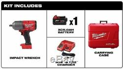 Milwaukee M18 FUEL Brushless Cordless 1/2 in. Impact Wrench with Friction Ring Kit