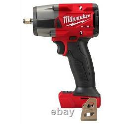 Milwaukee M18 FUEL GEN-2 18-Volt Lithium-Ion Mid Torque Brushless Cordless 3/8