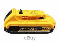 NEW DeWALT DCF883 20V 20 Volt MAX DCB203 Battery Cordless 3/8 Impact Wrench Kit