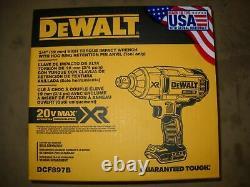 NEW Dewalt DCF897B CORDLESS 20V 3/4 High Torque Impact with Hog Ring New in box