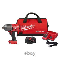 NEW Milwaukee 2767-21B M18 FUEL 18-Volt 1/2-Inch Friction Ring Impact Wrench Kit