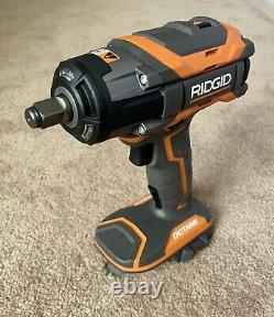 NEW! RIDGID Impact Wrench 18-Volt OCTANE Cordless Brushless 1/2 in. (Tool Only)