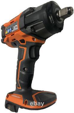 NEW RIDGID R86011 OCTANE 18V 18 Volt Brushless 1/2 Impact Wrench with Belt Clip