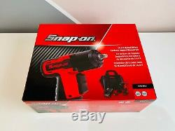 NEW Snap On 3/8 14.4V Red MicroLithium Cordless Impact Wrench Kit CTEU761A