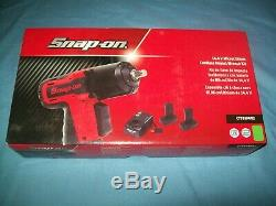 NEW Snap-on Lithium Ion CT761AGK2 14.4V 14.4Volt 3/8 dr CordLESS Impact Wrench
