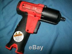 NEW Snap-on Lithium Ion CT761AO 14.4V 3/8 drive CordLESS Impact Wrench UNused