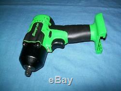 NEW Snap-on Lithium Ion CT8810BGDB 18V 18 Volt cordless 3/8 impact Wrench/Gun