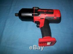 NEW Snap-on Lithium Ion CT8850 18V 18 Volt cordless 1/2 impact Wrench / Gun