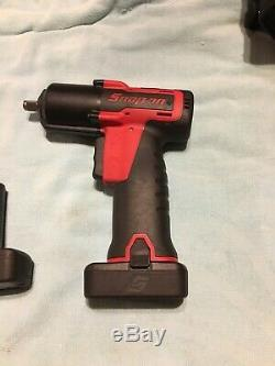 NICE Snap-On Tools CT761A 3/8 Drive 14.4v Cordless Impact Wrench & 2 Batteries