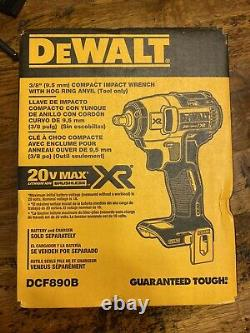 New DEWALT DCF890B 20V Max XR Cordless Impact Wrench (Tool Only)