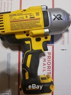 New Dewalt 20V DCF899 Cordless Brushless 1200 Lb 1/2 Impact Wrench 20 Volt Pin