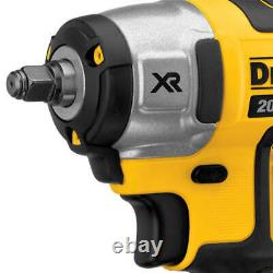 New Dewalt XR 20 Volt 3/8 Inch Brushless Impact Wrench Bare Tool # DCF890